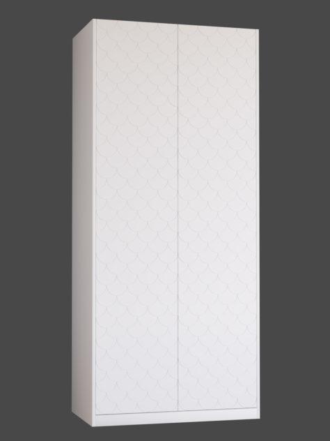 Kuviojyrsättu SCALE ovi PAX vaatekaappiin.