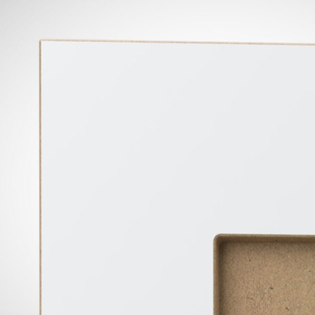Shaker P1 kehyksellinen ovi, maalamaton.