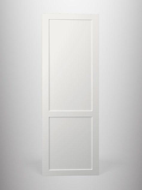 Shaker P1.2, kehyksellinen ovi, 2 paneelia, paneelin syvyys 7mm, kehys sileä, 70mm leveä.