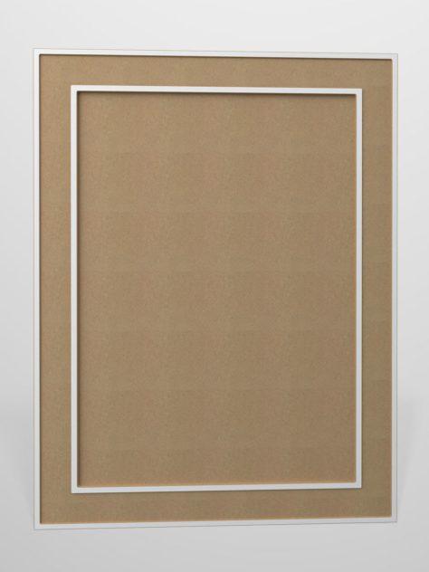 Shaker P2, kehyksellinen ovi, 3 mm syvälla uralla, maalamaton.