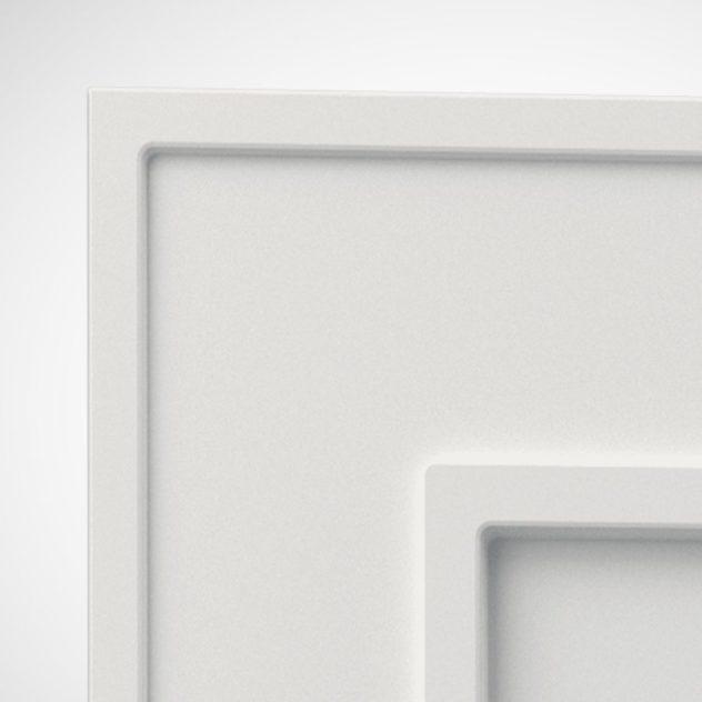 Shaker P2, kehyksellinen ovi, 1 paneeli, paneelin syvyys 7mm, kehys 70mm leveä 3 mm syvälla uralla.