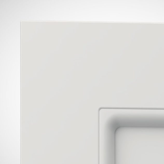 Shaker P3, kehyksellinen ovi, 1 paneeli, paneelin syvyys 9mm, kehys sileä, kehyksen leveys yhteensä 70mm, 8 mm pyöreällä sisäprofiililla.